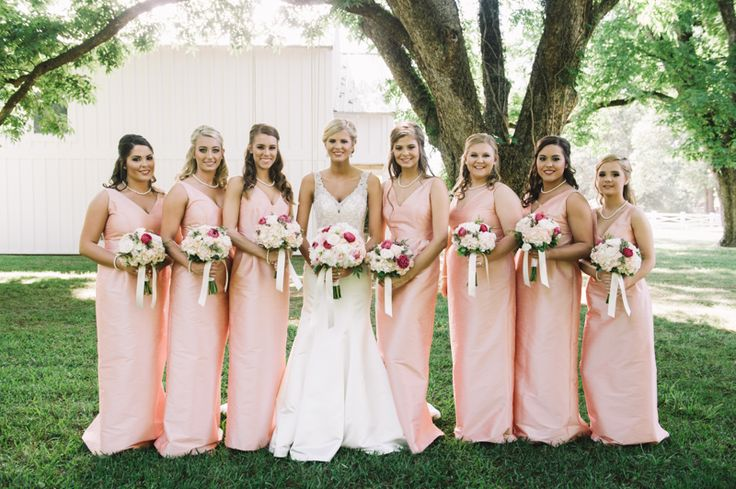 Madeline Josh By King PhotographyBridesmaid DressesBridesmaidsFarm WeddingBridesmade