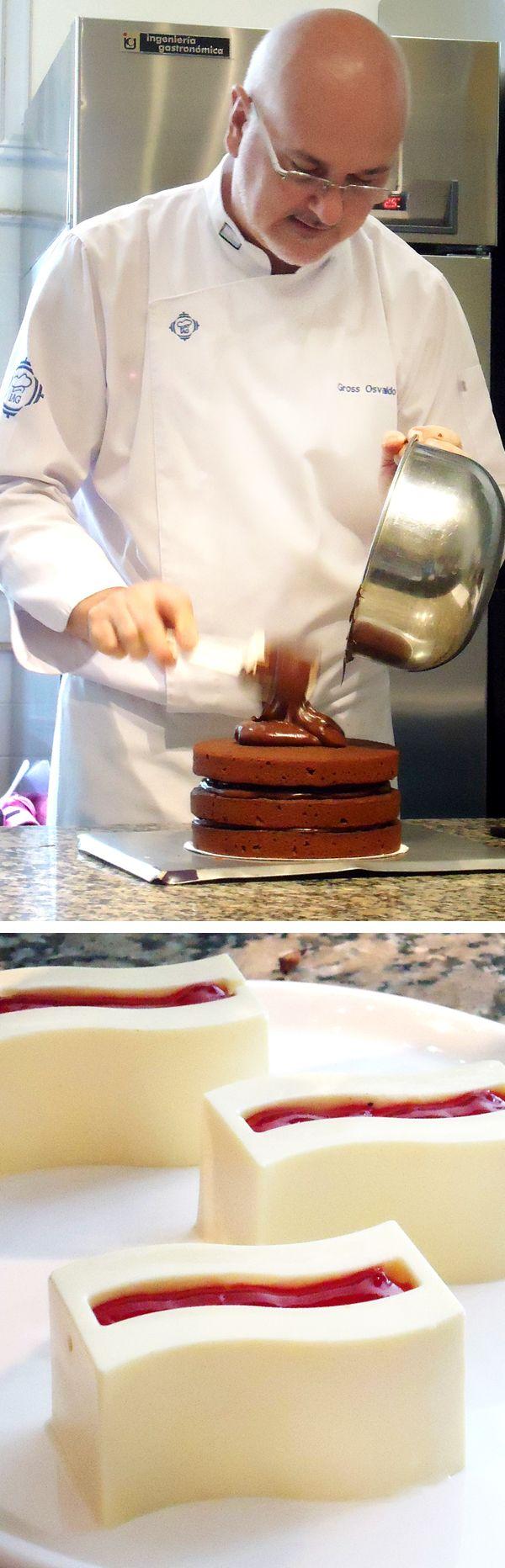 Osvaldo Gross - Pastelería con chocolate