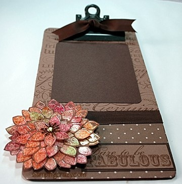 You know we love a decorated clipboard...so easy to do with your & 106 best clipboards images on Pinterest | Decorated clipboards ...