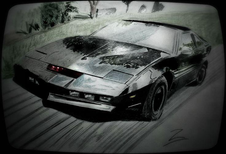 Knight Rider draw