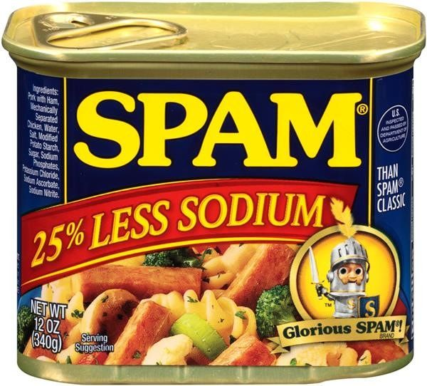 Having to cut back on sodium can take a lot of tasty things out of the equation. Fortunately, SPAM® Less Sodium is not one of those things. It provides the same delicious SPAM® Classic flavor with 25%