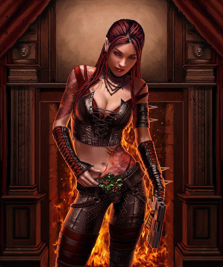 Dispuesta, por Derek Herring: Character Art, Book Art, Fantasy Art, Warriors Women, Book Inspiration, Graysund Deviantart, Mistleto Iii, Elf Female Warriors Red Hairs, Deviantart Galleries