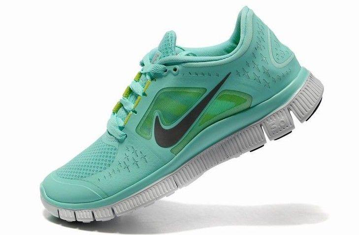 Nike Free Run+ 3 Kvinder Løbesko Mintgrøn Grå