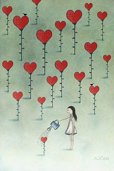 ❤ plantation hearts ~ Nurture by Amanda Cass