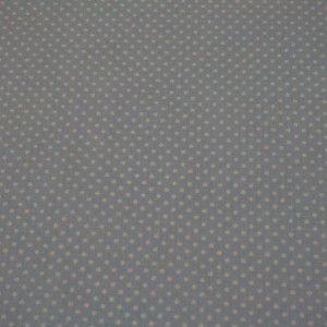 http://www.radicifabbrica.it/prodotto/tessuto-h-cm-290-pois-azzurro/ Tessuto in 100% cotone con fondo azzurro e piccoli pois bianchi, ideale per confezionare lenzuola, copripiumini e culle. Il tessuto è alto cm 290. Il prezzo di Euro 10.00 si intende al metro lineare.  Prodotto in Italia.  Possiamo confezionare questo articolo su misura, richiedici un preventivo!