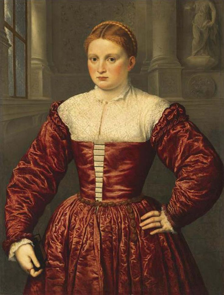 Paris Bordone (1500-1571) ~ Italian High Renaissance Painter ~ Portrait of a Lady, Possibly of the Fugger Family ~ ca.1545 ~ Private Collection