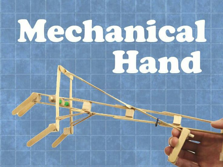Build Your Own Mechanical Hand With Popsicle Sticks