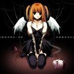 Death Note Misa Amane Cute Anime Girl Wallpaper