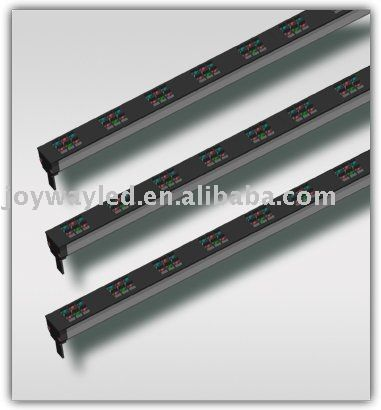 1.LED light bars  2. Low windage resistance  3.Light in weight  4.Suitable for viewing  in long distance http://www.tuberads.com