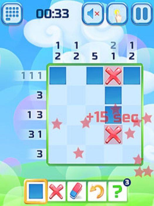 Griddlers Делюкс игра логическая головоломка, где вы должны цвет блоков, чтобы показать картины и узоры, скрытые в сетке. Другие названия для этих краску головоломки в стиле пиксель являются Nonogrames, Hanjie или японские кроссворды.  Источник: http://games-topic.com/136-griddlers-deluxe.html