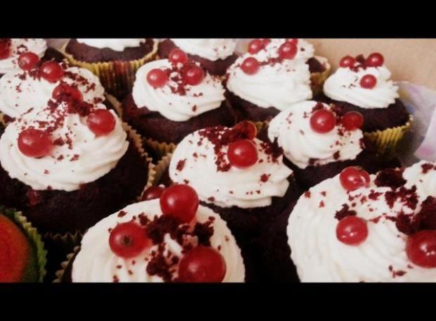 Red velvet Muffin, recepty, Muffiny | Tortyodmamy.sk