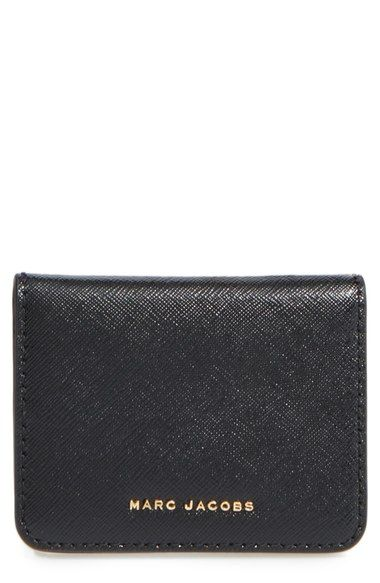 MARC JACOBS Train Pass Leather Bifold Wallet available at #Nordstrom