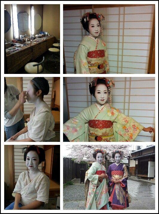 maiko experience at Kyoto