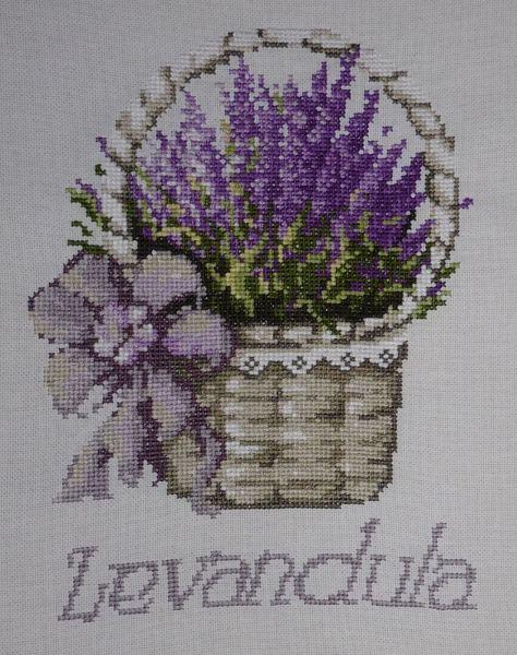 A basket of lavender.