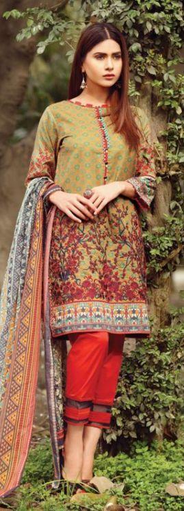 Latest pakistani dress Edenrobe Lawn 2017 Collection For Girls #Latestpakistanidress