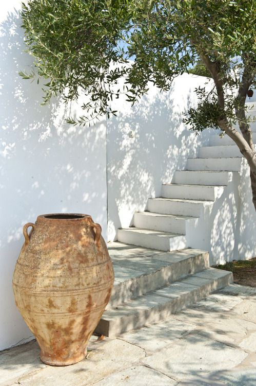 Paros island, Greece. If these steps led to my house I would be so happy!
