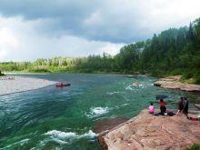 Plage de la rivière bonaventure