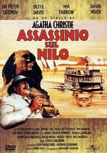 Assassinio sul Nilo - Universal Pictures  Un Peter Ustinov in grande stile, per atmosfere esotiche ed archeologiche che si tingono di giallo.