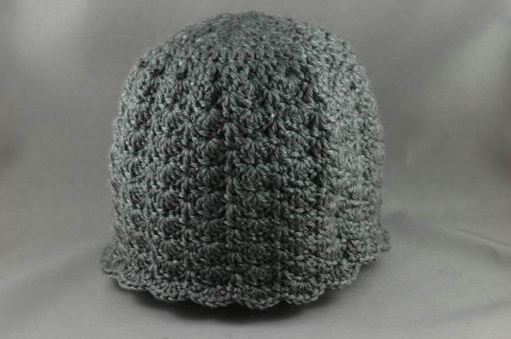 "Grey ""Little Sister Hat"" for a big sister!!!"