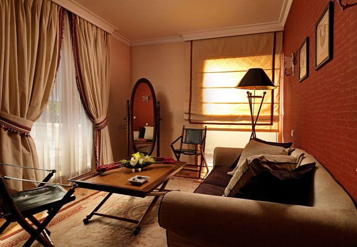 Living Room of Executive Suite #DivaniPalaceAcropolis