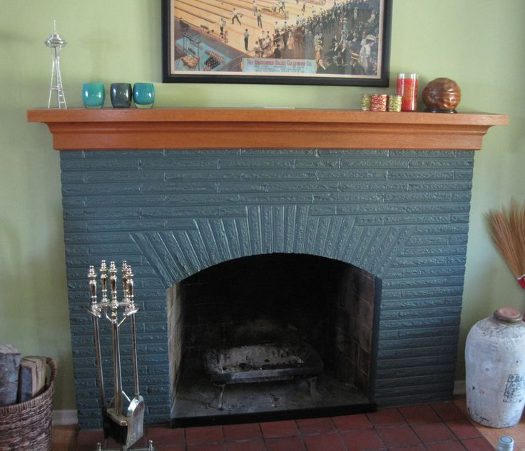 83 best images about fireplaces on pinterest how to for Colors to paint a fireplace
