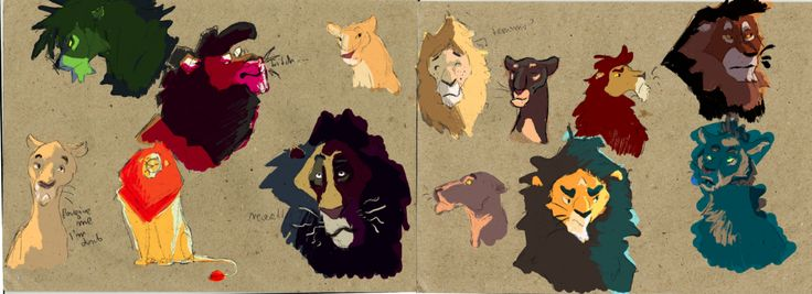 Many Lions by Wilchur.deviantart.com on @DeviantArt