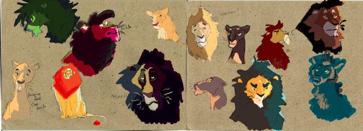 Many Lions by Wilchur.deviantart.com on @DeviantArt
