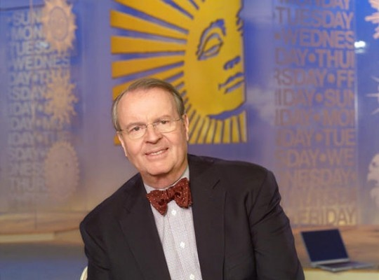 Charles Osgood, host of CBS Sunday Morning