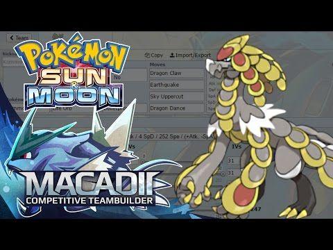 Kommo-o Sun and Moon Team Builder! - Pokemon Showdown OU Team Building w. macadii (Smogon OU) - YouTube