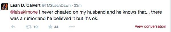 Teen Mom News— Leah Messer Responds to Cheating Rumors   OK! Magazine