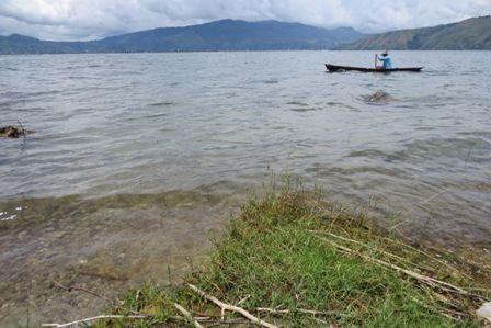 The Lake Toba..
