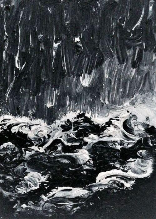 "Juliet Jardin   ""Waves"" 21.04.2014, oil on canvas"