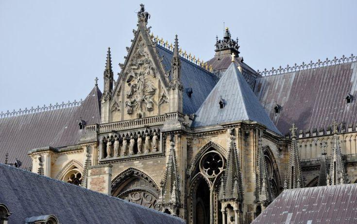 Кафедральный собор Нотр-Дам в Реймсе (Reims), Шампань-Арденн (Champagne-Ardenne) - Памятники архитектуры