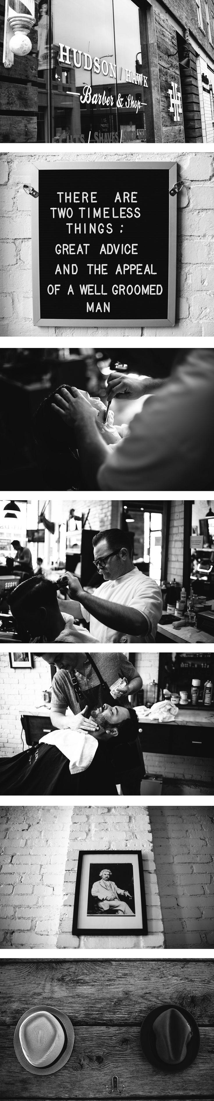 Hudson Hawk Barbers located in Springfield, MO.  A full service, ultra manly barber shop.    http://hudsonhawkbarbers.com/