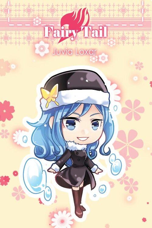 Fairy Tail Juvia Chibi so cuteee ^.^