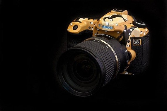 Custom designed canon dSlr