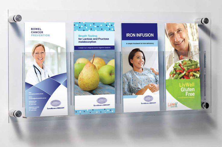 Mornington Endoscopy - design of promotional materials