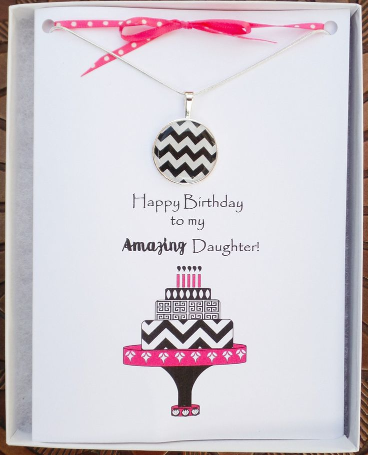 19 best daughter birthday cards images on pinterest daughter items similar to daughter birthday card necklace happy birthday daughter card gift for daughter gift for gift for daughter from father from mother on bookmarktalkfo Choice Image