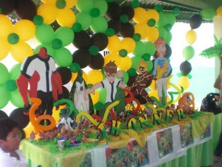 14 best images about decoracion de fiestas por personajes - Decoracion para ninos ...