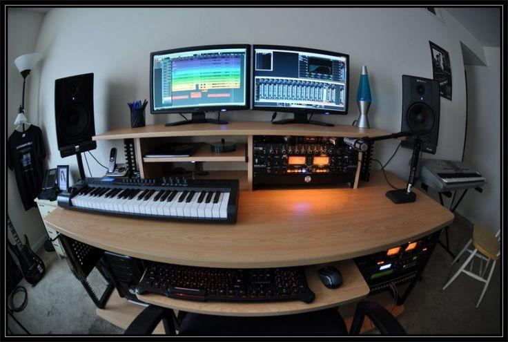 2014 small recording studio desk ikea recording studio for Studio desk ikea