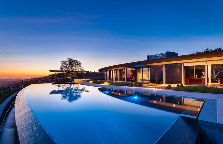 NMA Architects (США). Дом над Санта-Барбарой — Д.Журнал