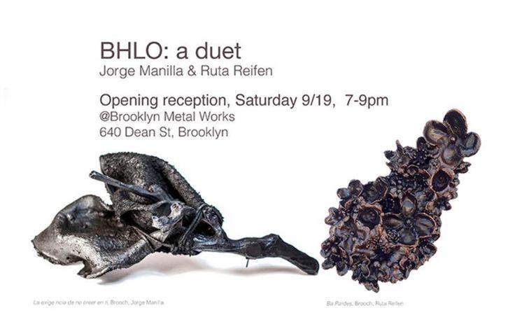 BHLO a duet - Jorge Manilla  & Ruta Reifen