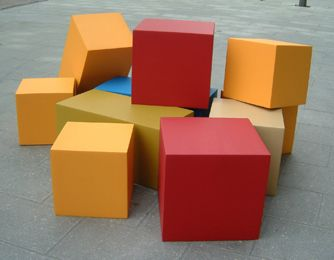 Foam cubes - 5 to start off in the prototype