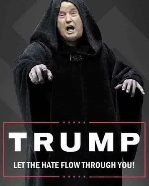 Embracing the Dark Side ... TRUMP