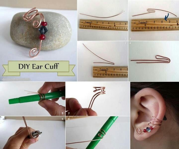 Beaded Earring CuffFree Diy Jewelry Projects | Learn how to make jewelry - beads.us