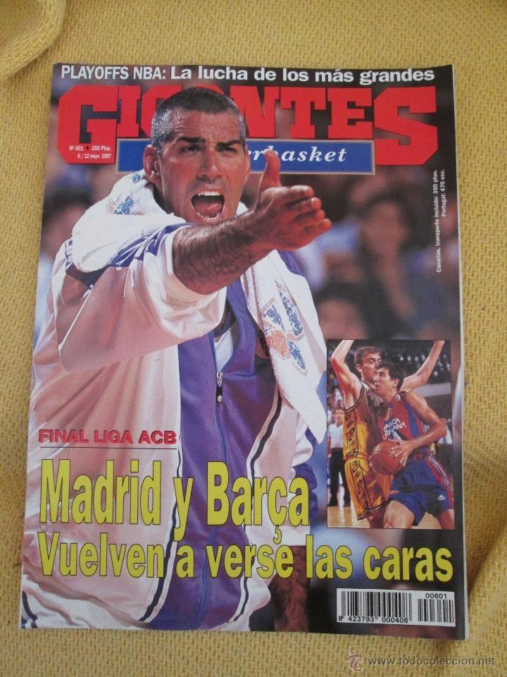 GIGANTES DEL BASKET. NO. 601 - MAYO - 1997