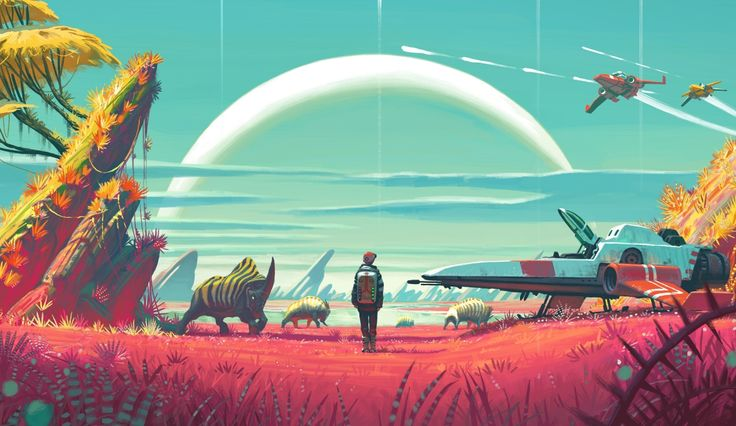 Why No Man's Sky is perfect for a VR make-over   GamesRadar+