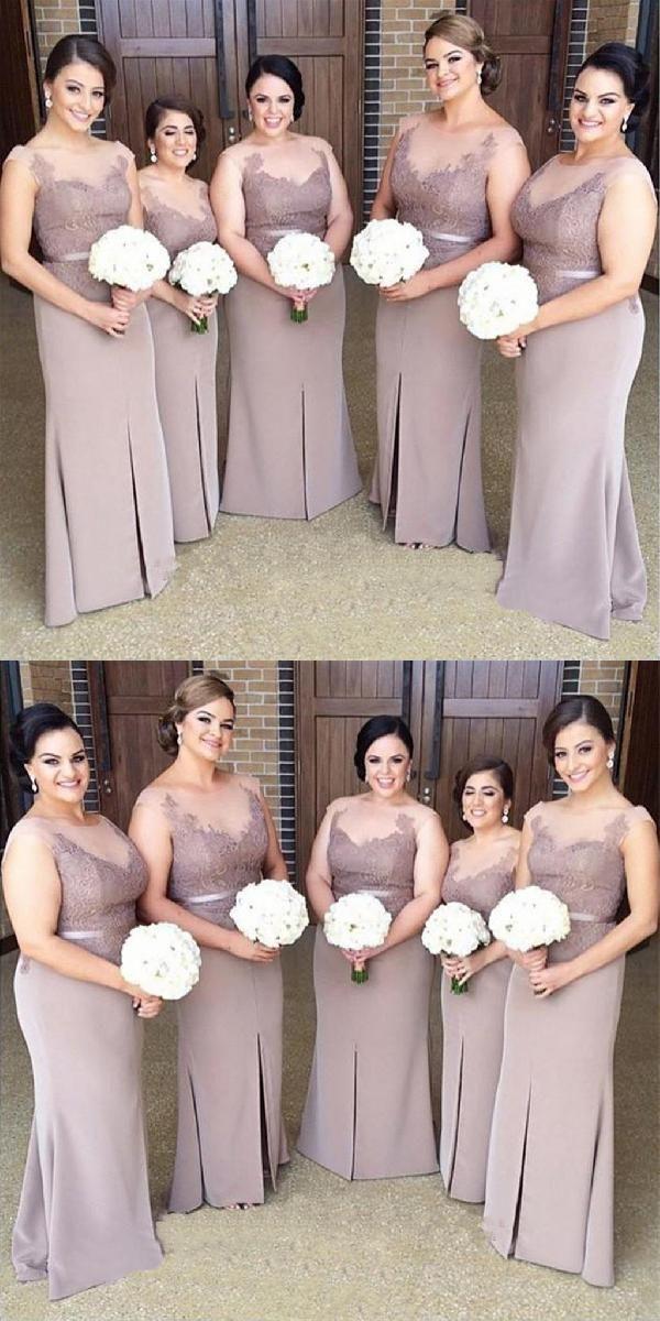 2c0f91c86df5 Lace Bridesmaid Dresses, Bridesmaid Dress, Plus Size Bridesmaid Dresses, Mermaid  Prom Dress, Prom Dress #LaceBridesmaidDresses #BridesmaidDress ...