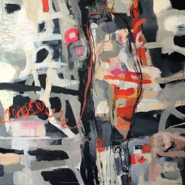 """Saatchi Art Artist Magdalena Krzak; Painting, """"Stay In Touch"""" #art"""