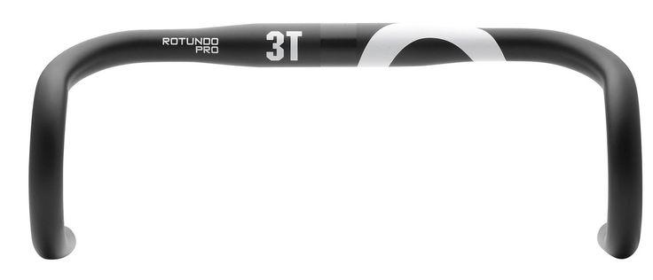 3T Rotundo Pro Aluminium Handlebar 42cm Black/White